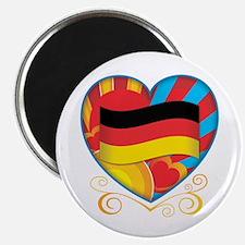 "German Heart 2.25"" Magnet (10 pack)"