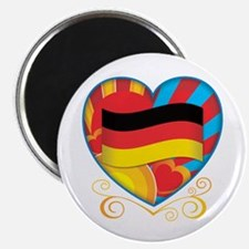 "German Heart 2.25"" Magnet (100 pack)"