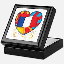French Heart Keepsake Box