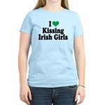Kissing Irish Girls Women's Light T-Shirt