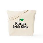 Kissing Irish Girls Tote Bag