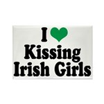 Kissing Irish Girls Rectangle Magnet (100 pack)