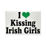 Kissing Irish Girls Rectangle Magnet