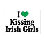 Kissing Irish Girls Mini Poster Print