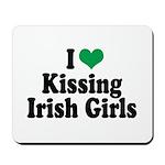 Kissing Irish Girls Mousepad