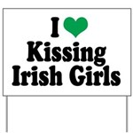 Kissing Irish Girls Yard Sign