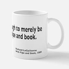 With Pipe and Book Mug