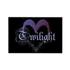 Twilight Sparkle Heart Rectangle Magnet