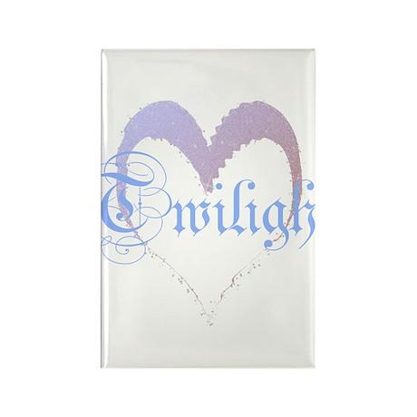 Twilight Sparkle Heart Rectangle Magnet
