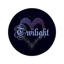 "Twilight Sparkle Heart 3.5"" Button"