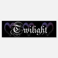 Twilight Sparkle Heart Bumper Bumper Bumper Sticker