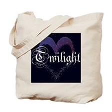 Twilight Sparkle Heart Tote Bag