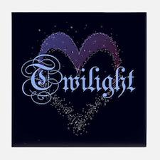 Twilight Sparkle Heart Tile Coaster