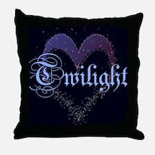 Twilight Sparkle Heart Throw Pillow
