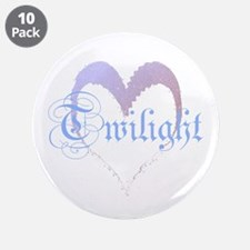 "Twilight Sparkle Heart 3.5"" Button (10 pack)"
