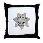San Jose Police Throw Pillow