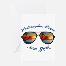 New York - Westhampton Beach Greeting Cards