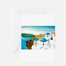 Santorini Greeting Cards (Pk of 10)