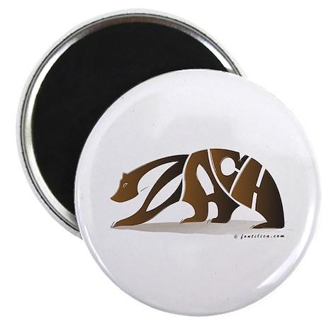Zach (Brown Bear) Magnet