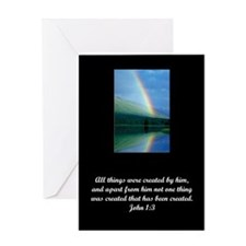 Made By God Greeting Card