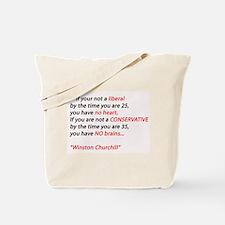 Conservatism Tote Bag