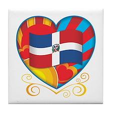 Dominican Tile Coaster