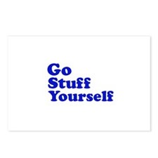 Go Stuff Yourself Postcards (Package of 8)