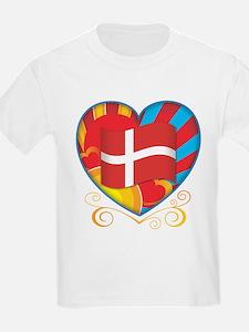 Danish Heart T-Shirt