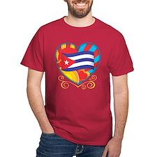 Cuban Heart T-Shirt
