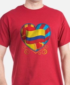 Colombian heart T-Shirt
