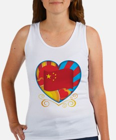 Chinese Heart Women's Tank Top