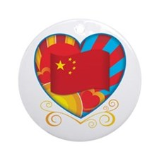 Chinese Heart Ornament (Round)