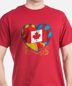 Canadian Heart T-Shirt