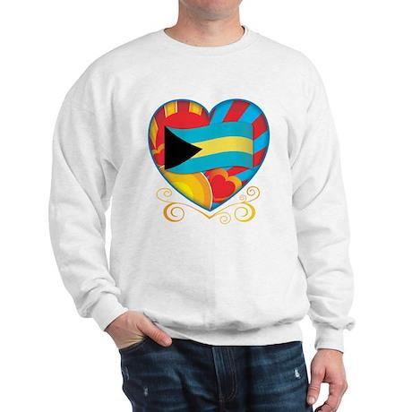 Bahamian Heart Sweatshirt