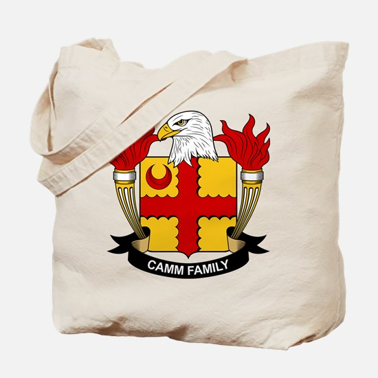 Camm Family Crest Tote Bag