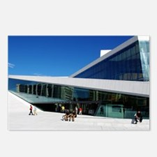 The Norwegian Opera House Postcards (Package of 8)