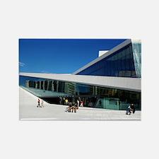 The Norwegian Opera House Rectangle Magnet