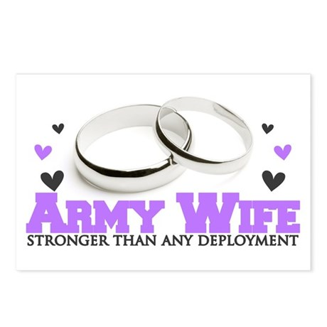 Stronger than any deployment: Army Postcards (Pack