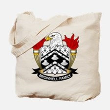 Brownell Family Crest Tote Bag
