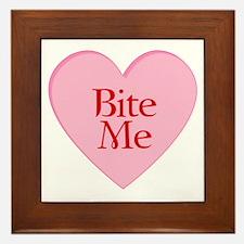 Twilight Vampire Valentine Framed Tile