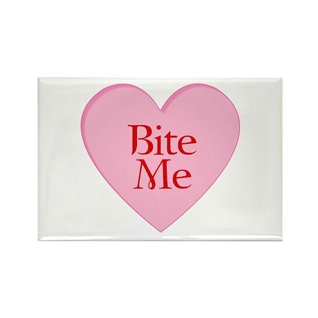 Twilight Vampire Valentine Rectangle Magnet (100 p