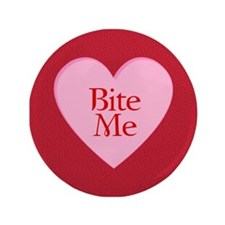 "Twilight Vampire Valentine 3.5"" Button (100 pack)"