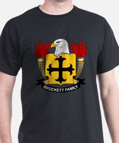 Brockett Family Crest T-Shirt