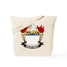 Breck Family Crest Tote Bag