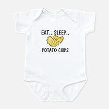 Eat ... Sleep ... POTATO CHIPS Infant Bodysuit