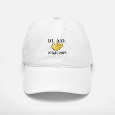 Eat ... Sleep ... POTATO CHIPS Baseball Baseball Cap