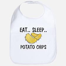Eat ... Sleep ... POTATO CHIPS Bib