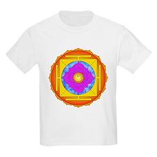 Om Lotus Yantra T-Shirt