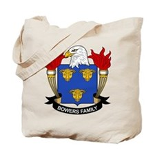 Bowers Family Crest Tote Bag