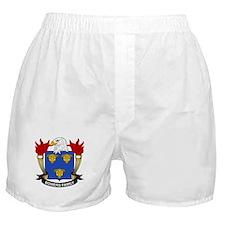 Bowers Family Crest Boxer Shorts